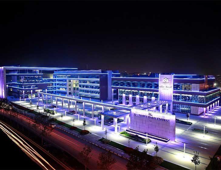 Sultangazi Belediyesi Başkanlık , Hizmet ve Nikah Binası