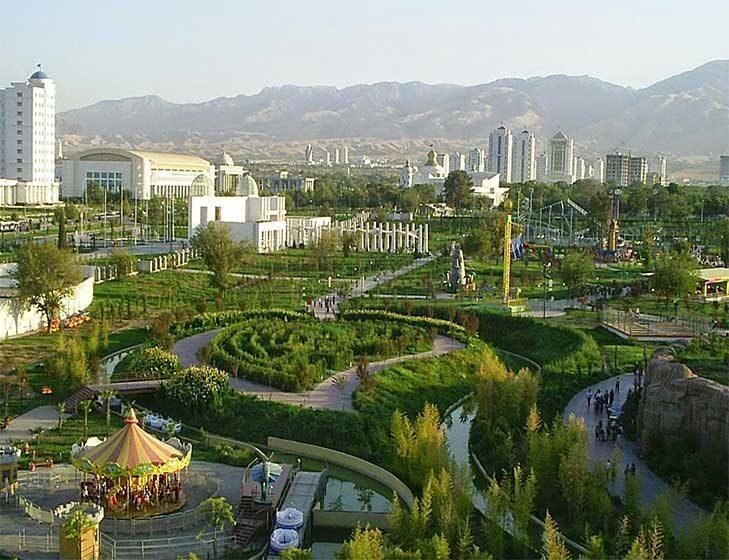 Türkmenistan Disneyland