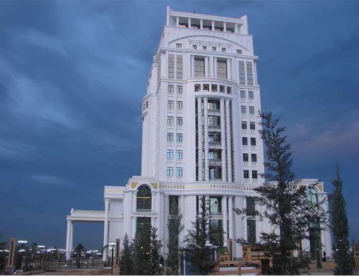 Türkmenistan Başbakanlık Sarayı